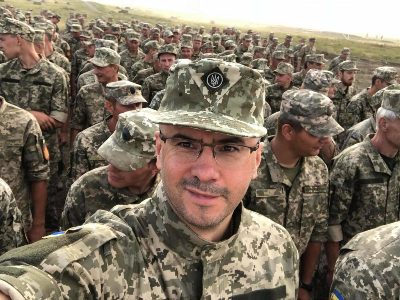 Народный детупат Украины Сергей Рудык пошел в армию, фото-1