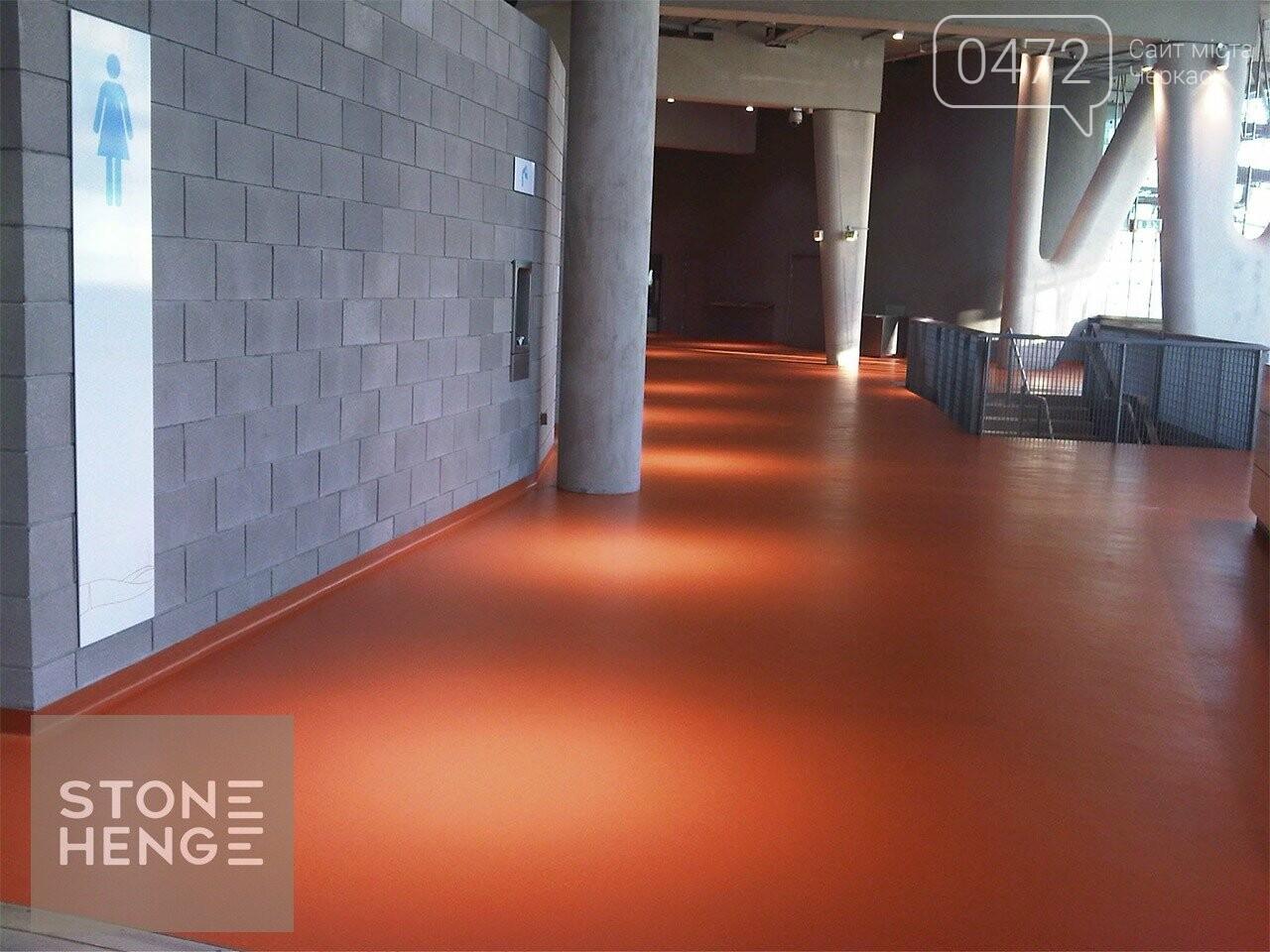 Довговічні полімерні наливні підлоги у м. Черкасах. Гарантія якості! Приємні ціни, фото-1