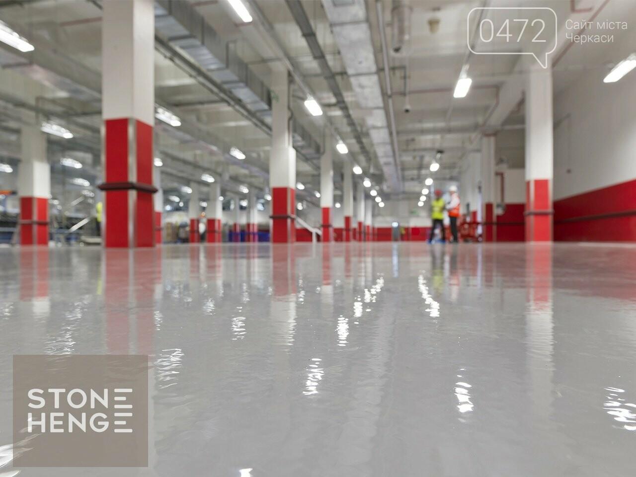 Довговічні полімерні наливні підлоги у м. Черкасах. Гарантія якості! Приємні ціни, фото-2