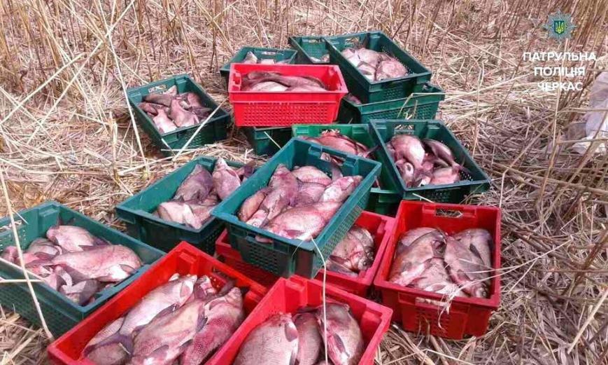 Черкаські водні патрульні виявили 8 мішків незаконно впійманої риби (ФОТО), фото-1