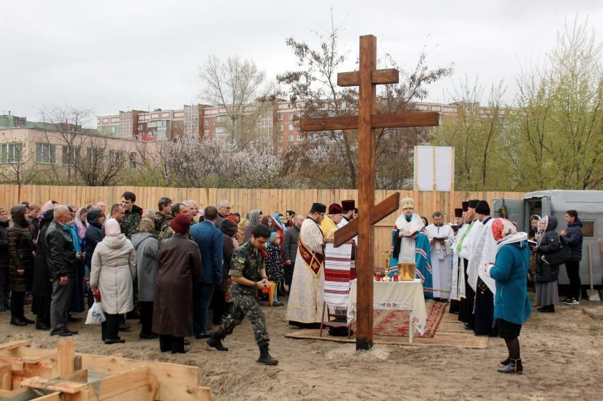 У Черкасах започатковано будівництво храму на честь преподобного Амфілохія Почаївського (ФОТО), фото-2