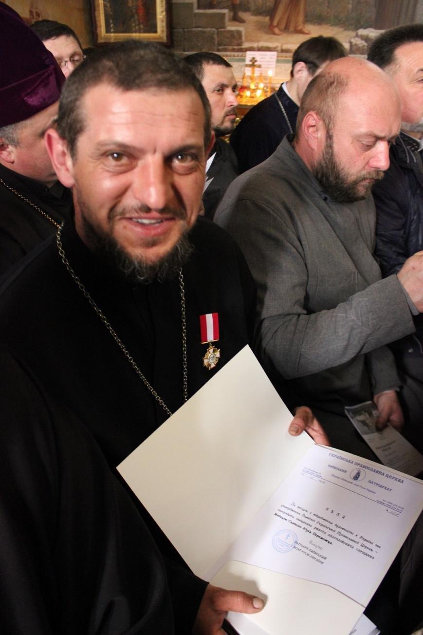 Черкаського  військового священика нагородили медаллю (ФОТО), фото-1