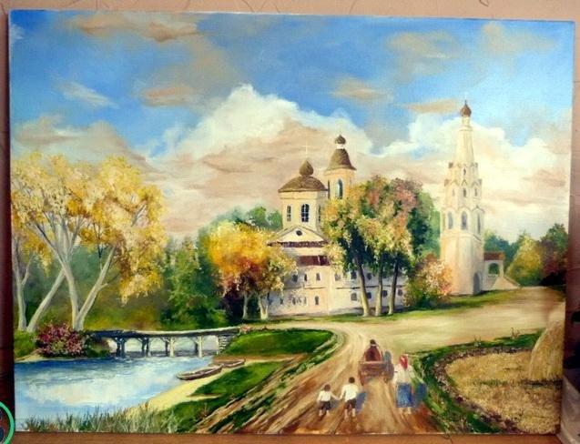 Черкаський художник пише картини, тримаючи пензлик у зубах (ФОТО), фото-2