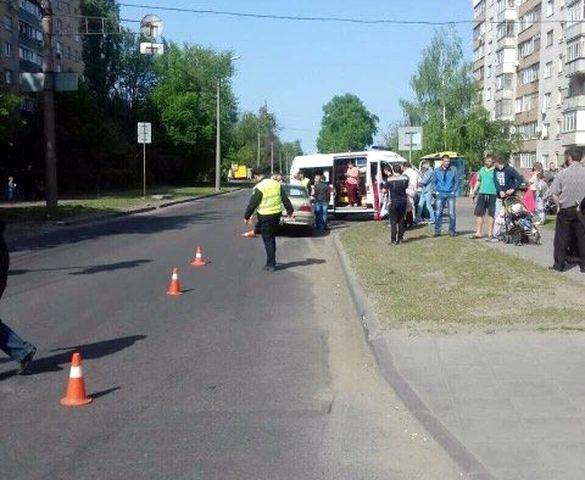Водій іномарки збив у Черкасах двох дітей, фото-1