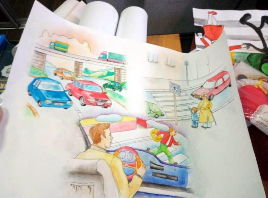 Патрульна поліція Черкас відзначила грамотами та подарунками творчих школярів (ФОТО), фото-2