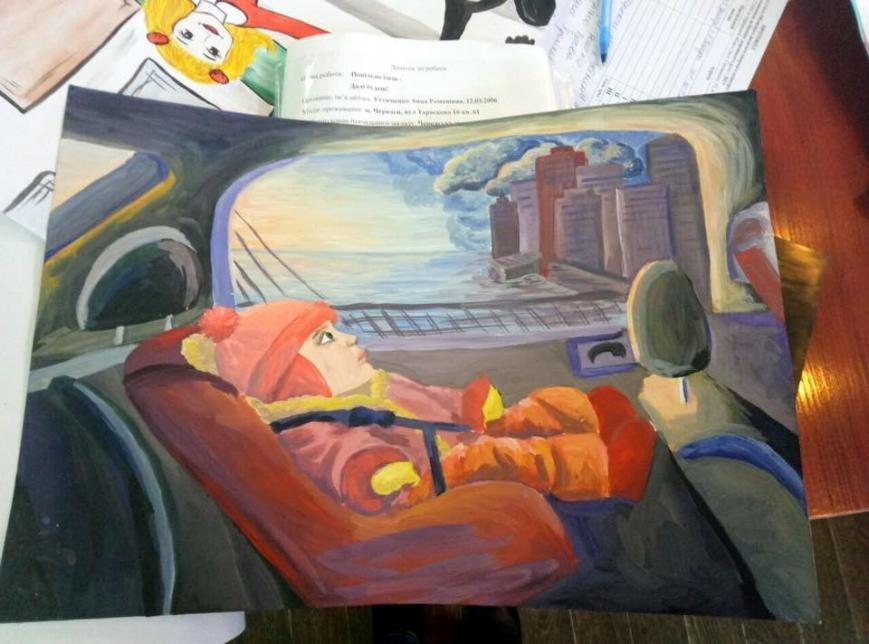 Патрульна поліція Черкас відзначила грамотами та подарунками творчих школярів (ФОТО), фото-3