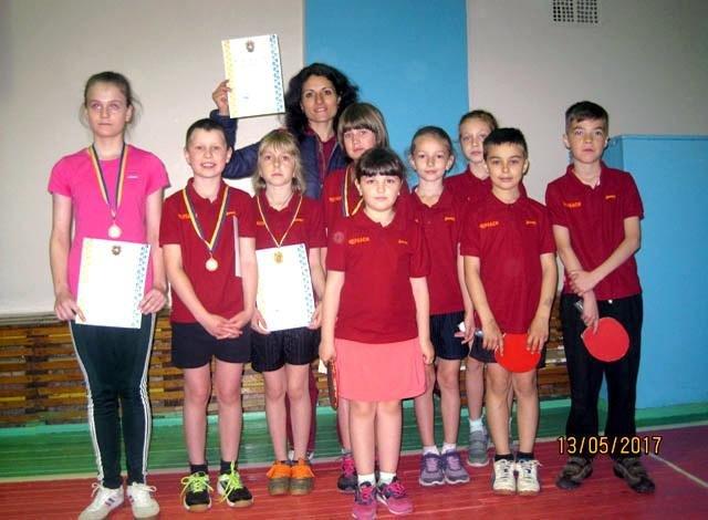 Вихованці черкаської КДЮСШ вдало виступили на змаганнях із настільного тенісу , фото-1