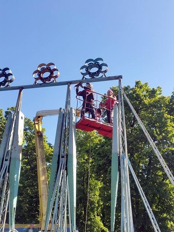 """Один із найпопулярніших атракціонів у парку """"Перемога"""" отримає нові кольори (ФОТО), фото-1"""