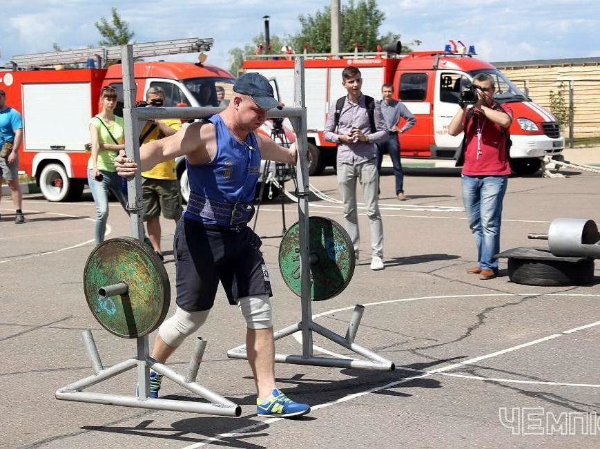 За звання найсильнішого в Черкасах змагалися рятувальники (ФОТО), фото-1
