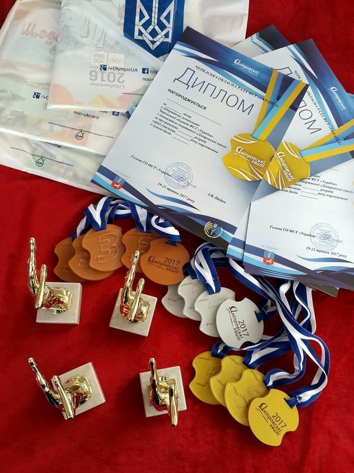 Гімнастки з Черкас вибороли призові місця на чемпіонаті області (ФОТО), фото-1