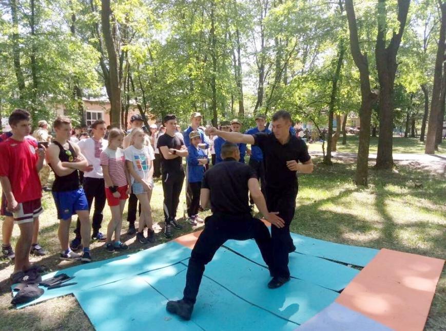 Черкаські патрульні показували дітям майстер-класи (ФОТО), фото-2