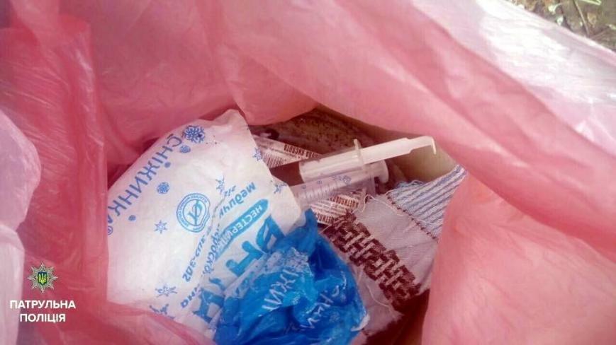 Черкаські патрульні затримали осіб з підозрілими пакунками (ФОТО), фото-2