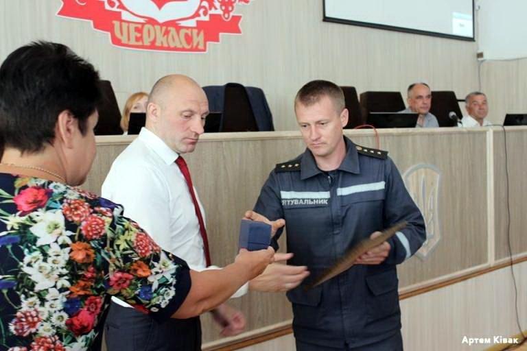 Чотирьох рятувальників міська влада відзначила грамотами й цінними подарунками (ФОТО), фото-2