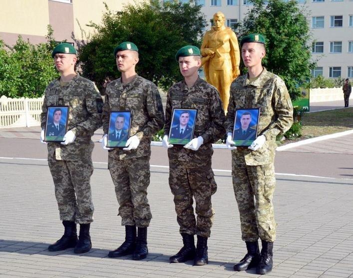 Прикордонники Оршанця вшанували загиблих в АТО колег (ФОТО), фото-1