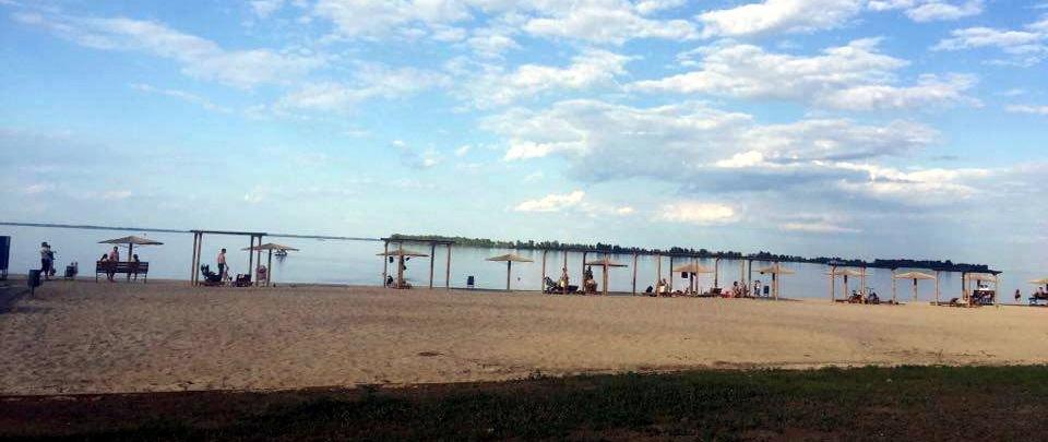 Міський голова Черкас пішов на пляж, фото-1