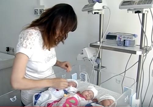 У Черкаському перинатальному центрі народилась трійня (ВІДЕО), фото-1