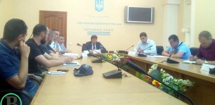 В облдержадміністрації вирішували подальшу долю ФК «Черкаський Дніпро», фото-1