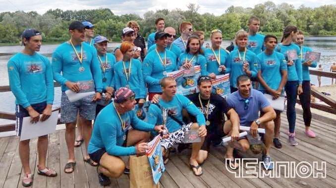 Черкаські веслувальники на чемпіонаті України посіли третє загальнокомандне місце, фото-1