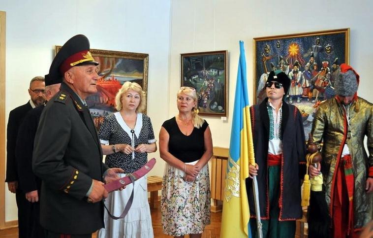Французького фотографа та його дружину в Черкасах посвятили у козаки (ФОТО), фото-1