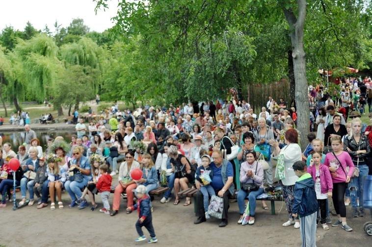 Весело та яскраво. У парку Перемоги відсвяткували Івана Купала (ФОТО), фото-1