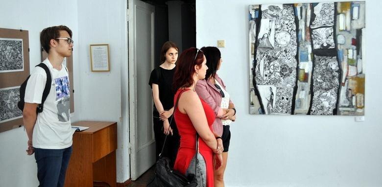 У Черкасах відкрилася персональна виставка молодого художника (ФОТО), фото-2