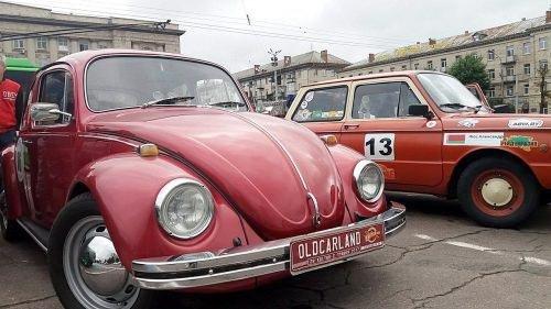 До Черкас завітали ретро-автівки з «Зіркового ралі» (ФОТО), фото-1