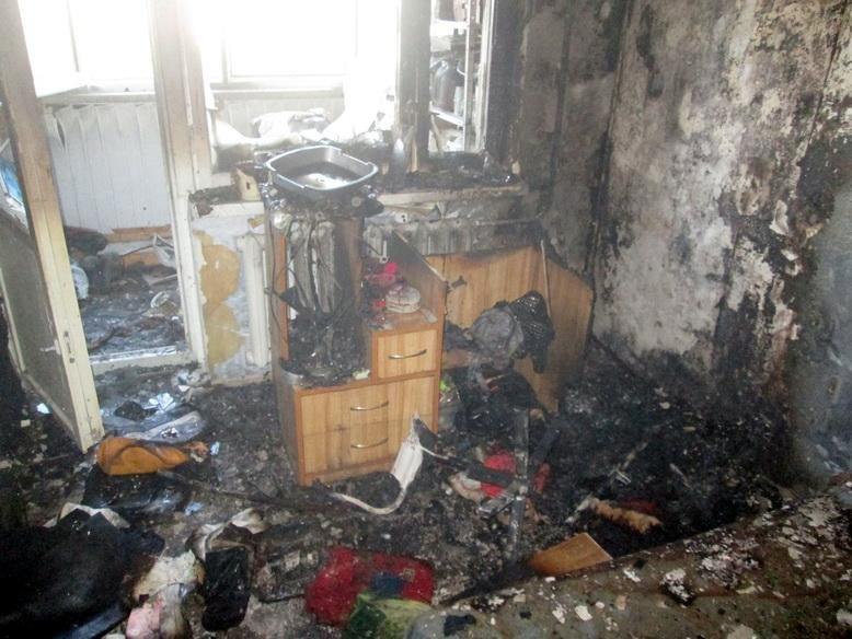 На Тараскова горіла квартира (ФОТО), фото-1