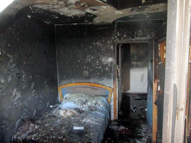 На Тараскова горіла квартира (ФОТО), фото-4