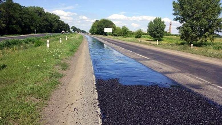 Як поводять себе «олені» на автодорозі Черкаси–Сміла, де тривають ремонтні роботи, фото-3