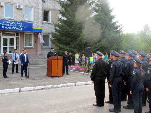 Поліція Черкас поповнилася новими патрульними (ФОТО), фото-3