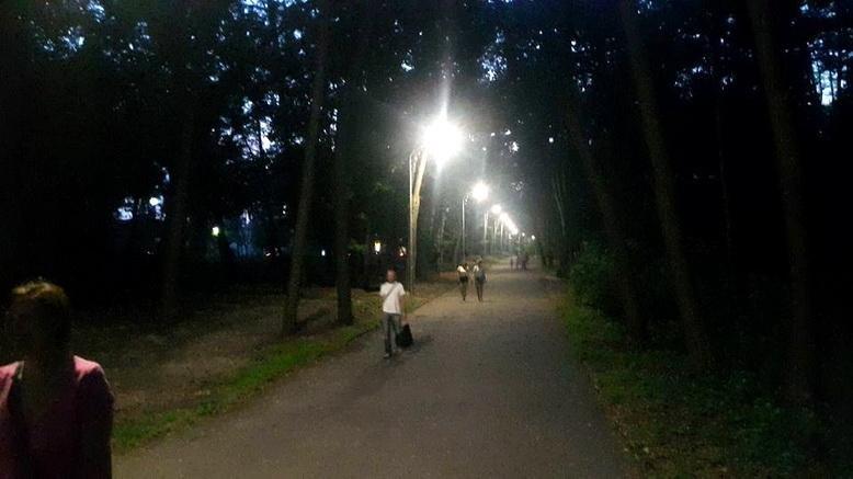 У Сосновому бору зробили нове освітлення (ФОТО), фото-2