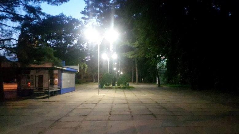 У Сосновому бору зробили нове освітлення (ФОТО), фото-1