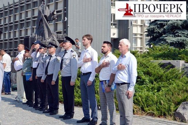 Черкаські поліцейські сьогодні відсвяткували річницю (ФОТО), фото-5