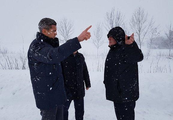 Очільник Черкащини проінспектував, як по районах долають наслідки негоди, фото-3