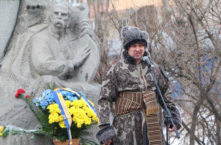 Просто неба: в центрі Черкас читали вірші Тараса Шевченка, фото-3
