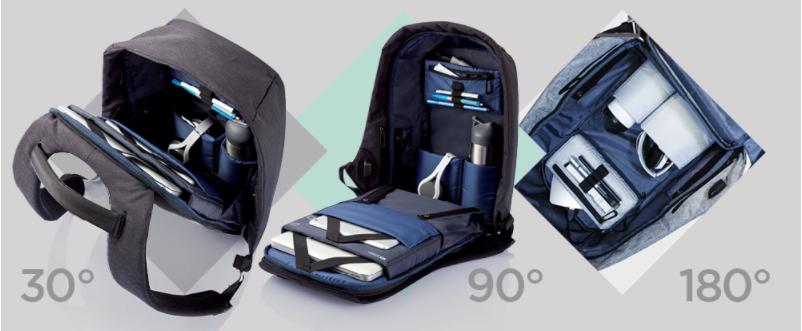 Унікальний рюкзак зі 100% захистом від кишенькових злодіїв - кращий подарунок, фото-1