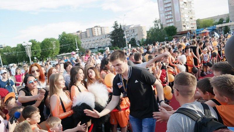 Чемпіонів України з баскетболу вітали у Черкасах, фото-2