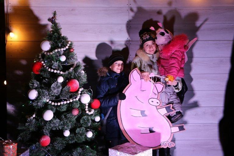 Ярмарок, фотозони, парад агротехніки: у Черкасах засяяла головна новорічна ялинка, фото-2