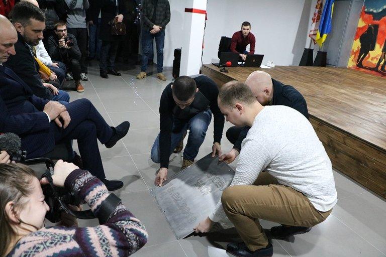 Пам'яті героя: Ambros hub відкрився у Черкасах, фото-5