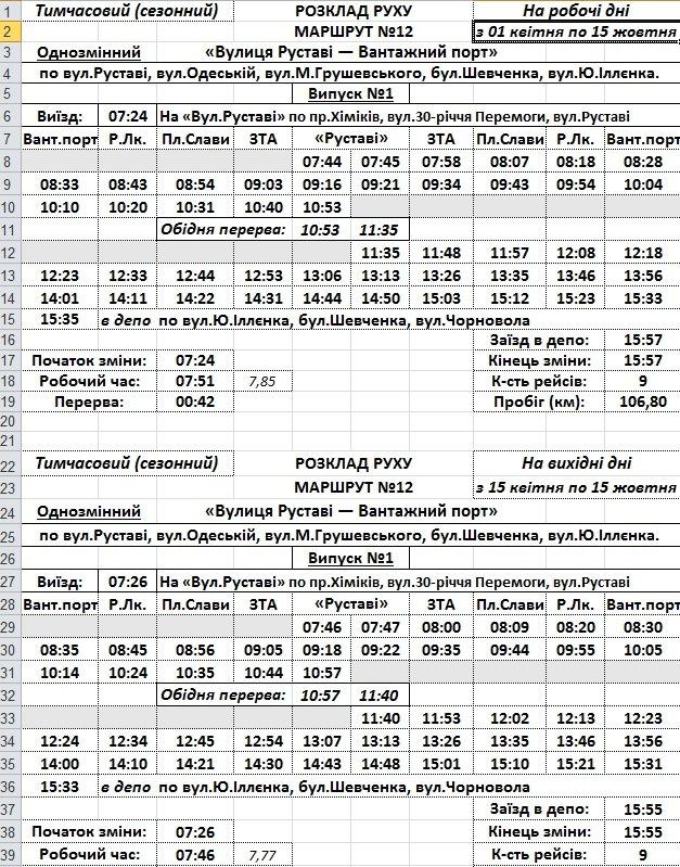 Кількість рейсів громадського транспорту збільшать у Черкасах на поминальні дні, фото-4