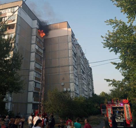 Під час пожежі у Черкасах евакуювали 15 чоловік, фото-1