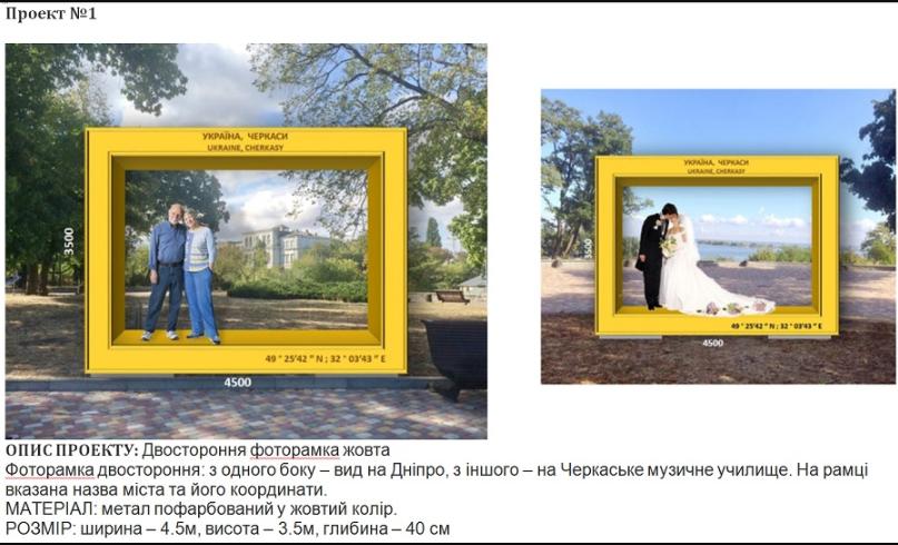 Черкащани оберуть арт-об'єкт з чотирьох проектів, фото-1