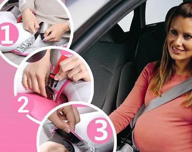 Адаптер ременя безпеки - захист для мами і майбутнього спадкоємця!, фото-1