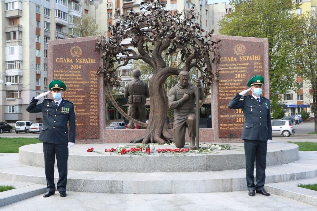 Загиблих прикордонників вшанували у Черкасах , фото-2