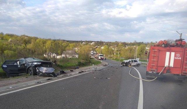 У ДТП на Звенигородщині загинув чоловік, фото-2
