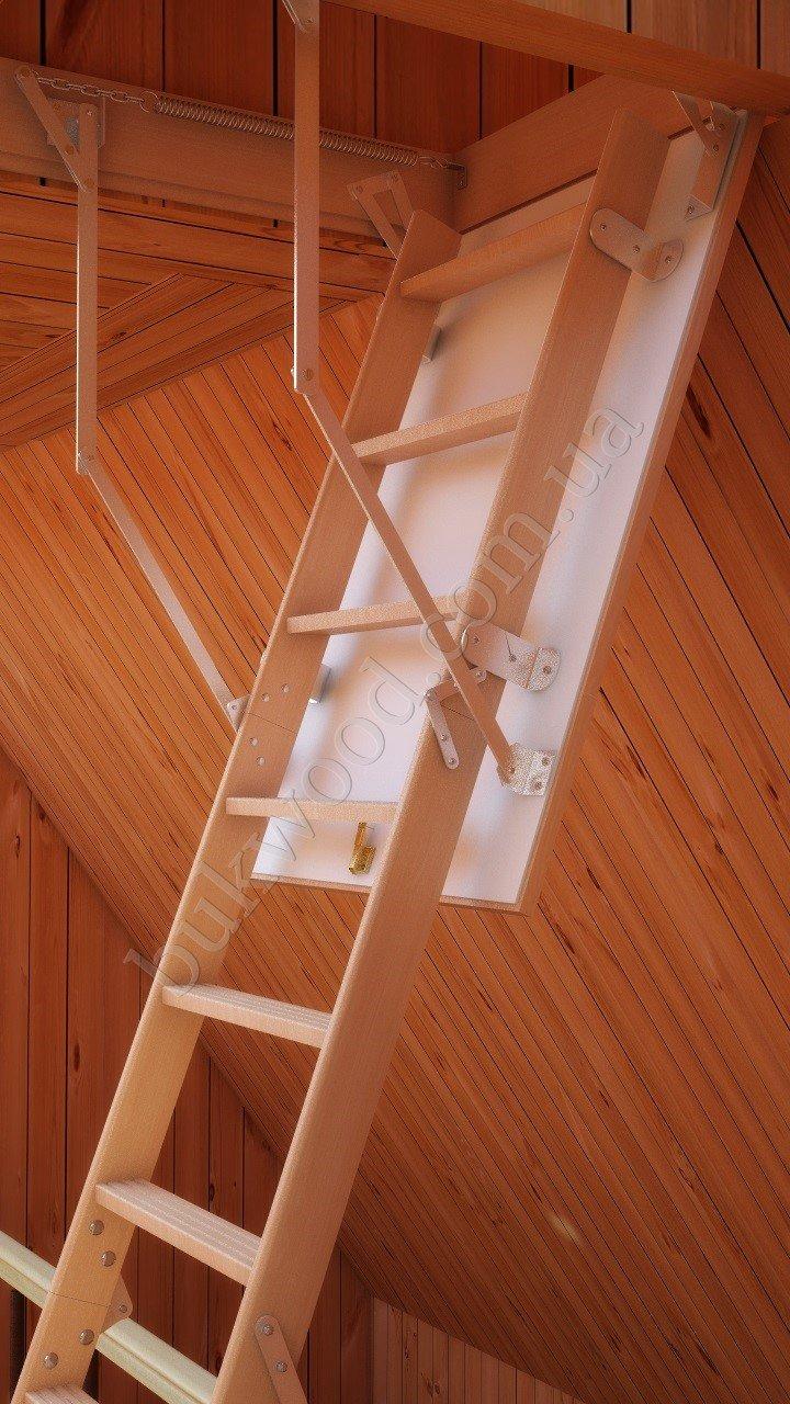 Украинский производитель чердачных лестниц